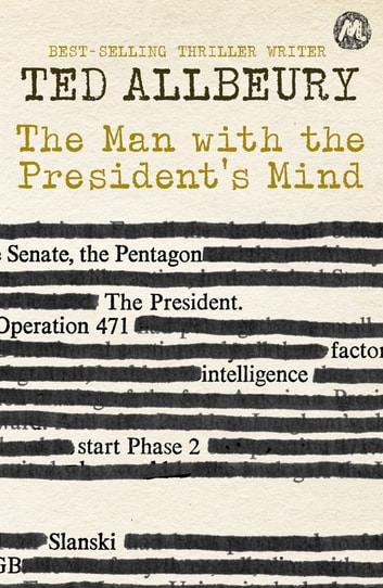 The Man with the President's Mind ekitaplar by Ted Allbeury