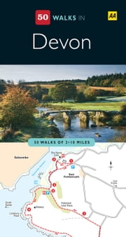 50 Walks In Devon ebook by Automobile Association