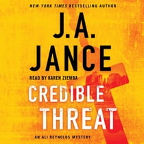 Credible Threat livre audio by J.A. Jance, Karen Ziemba