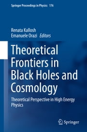Theoretical Frontiers in Black Holes and Cosmology - Theoretical Perspective in High Energy Physics ebook by Renata Kallosh,Emanuele Orazi