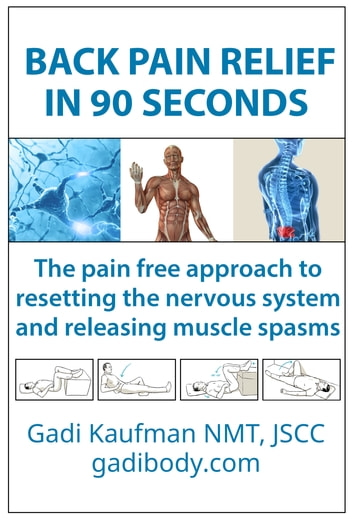 Back Pain Relief in 90 Seconds - The pain-free approach to resetting the nervous system and releasing muscle spasms ebook by Gadi Kaufman