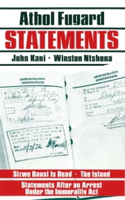 Statements ebook by Athol Fugard,John Kani,Winston Ntshona