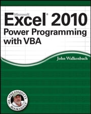 Excel 2010 Power Programming with VBA ebook by John Walkenbach