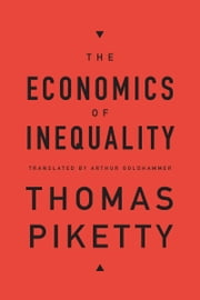 The Economics of Inequality ebook by Thomas Piketty