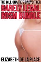 The Billionaire's Babysitter Barely Legal BDSM Bundle ebook by Elizabeth de la Place