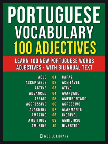 Portuguese Vocabulary - 100 Adjectives