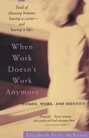 When Work Doesn't Work Anymore - Women, Work, and Identity ebook by Elizabeth Perle McKenna