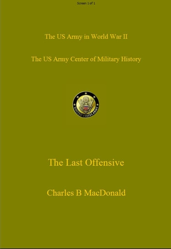 The Last Offensive ebook by Charles MacDonald