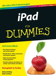 iPad für Dummies ebook by Edward C. Baig, Meinhard Schmidt, LeVitus