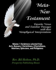 Meta-New Testament: Favorite Verses & Familiar Passages with their Metaphysical Interpretations – Volume 1 ebook by Bil Holton