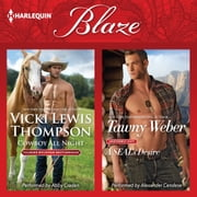 Cowboy All Night & A SEAL's Desire audiobook by Vicki Lewis Thompson, Tawny Weber