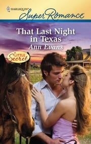 That Last Night in Texas ebook by Ann Evans