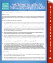 Windows 8.1 Update Quick Reference Guide - Speedy Study Guides ebook by Marshall Koontz