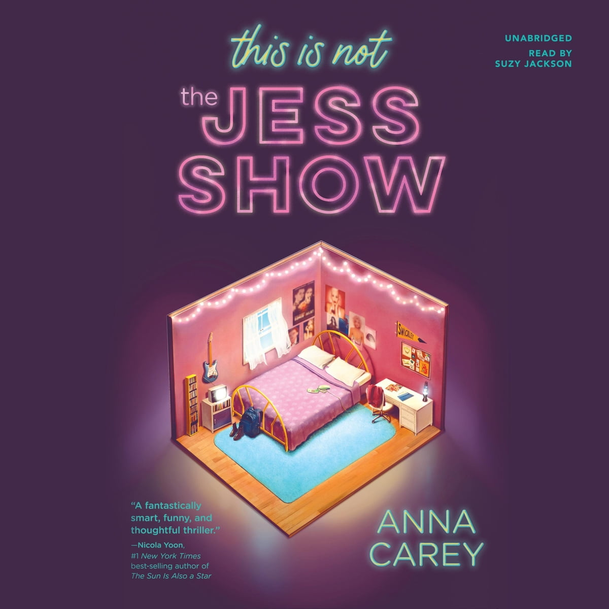 This Is Not the Jess Show Audiobook by Anna Carey cover art