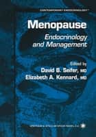 Menopause ebook by David B. Seifer