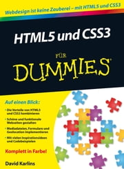 HTML5 und CSS3 für Dummies ebook by Judith Muhr, David Karlins