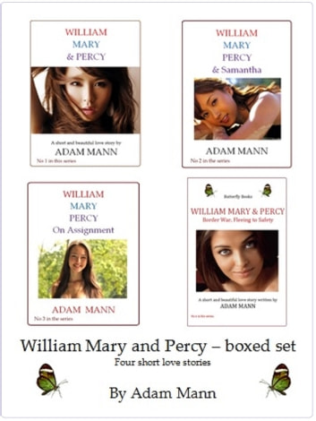 William Mary & Percy Box Set ebook by Adam Mann