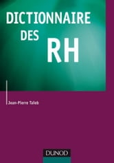 Dictionnaire des RH ebook by Jean-Pierre Taïeb