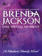 One Special Moment ebook by Brenda Jackson