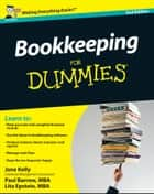 Bookkeeping For Dummies ebook by Jane Kelly,Paul Barrow,Lita Epstein