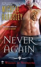 Never Again ebook by Michele Bardsley