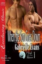 When the Sun Goes Down ebook by Gabrielle Evans