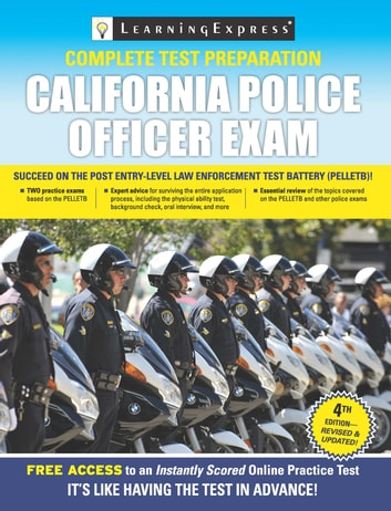 California Police Officer Exam Ebook By Learningexpress Llc Editors