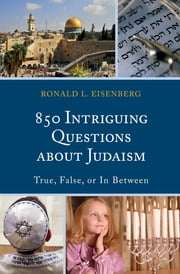 850 Intriguing Questions about Judaism - True, False, or In Between ebook by Ronald L. Eisenberg
