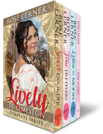 Lively St. Lemeston: the Complete Series - a Regency Romance boxed set ebook by Rose Lerner