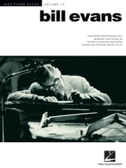 Bill Evans (Songbook) - Jazz Piano Solos Series Volume 19 ebook by Bill Evans