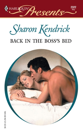 Back in the Boss's Bed ebook by Sharon Kendrick