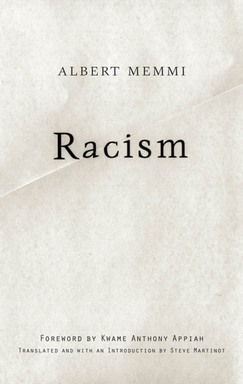 Racism ebook by Albert Memmi