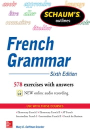 Schaum's Outline of French Grammar ebook by Mary Crocker