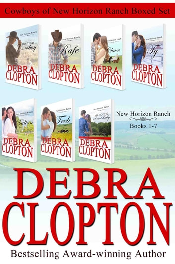 Cowboys of New Horizon Ranch Boxed Set 1-7 ebook by Debra Clopton