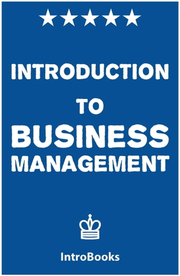 Introduction to business management ebook by introbooks introduction to business management ebook by introbooks fandeluxe Choice Image