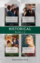 Historical Box Set 1-4/The Lord's Highland Temptation/Reunited with Her Viscount Protector/A Family for the Widowed Governess/The Duchess's Sec ebook by Mary Brendan, Diane Gaston, Ann Lethbridge,...
