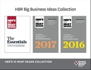 HBR's 10 Must Reads Big Business Ideas Collection (2015-2017 plus The Essentials) (4 Books) (HBR's 10 Must Reads) ebook by Harvard Business Review