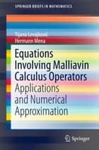Extraction of quantifiable information from complex systems ebook by equations involving malliavin calculus operators applications and numerical approximation ebook by hermann mena tijana fandeluxe Image collections