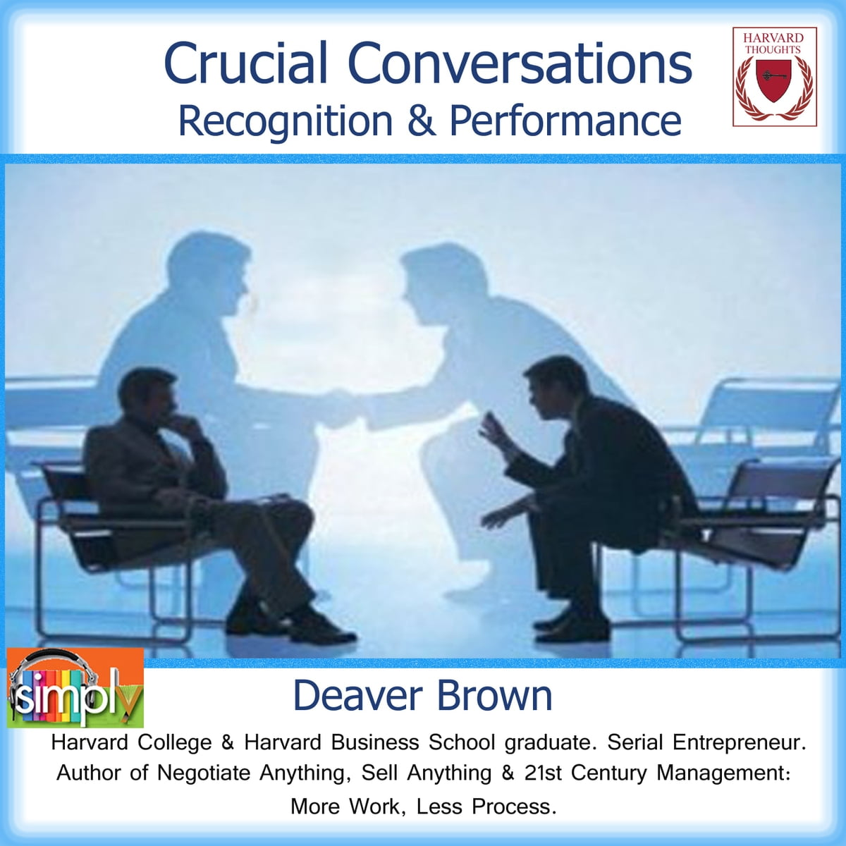 Crucial Conversations Audiobook by Deaver Brown - 9781614960386 | Rakuten  Kobo