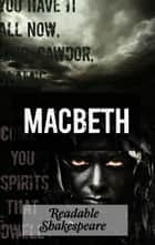 Macbeth - A Readable Adaptation ebook by Richard Chember, William Shakespeare