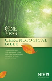 The One Year Chronological Bible NIV ebook by Tyndale