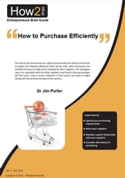 How to Purchase Efficiently ebook by Dr Jim Porter