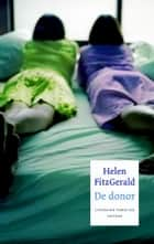 De donor ebook by Helen FitzGerald, Inge de Heer
