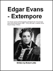 Edgar Evans - Extempore ebook by Robert Little