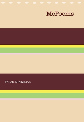McPoems ebook by Billeh Nickerson