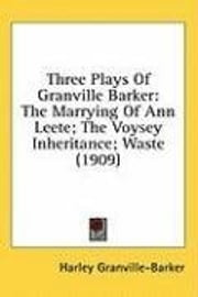 Waste ebook by Granville Barker