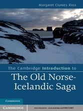 The Cambridge Introduction to the Old Norse-Icelandic Saga ebook by Margaret Clunies Ross