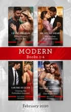 Modern Box Set 1-4 February 2020/Indian Prince's Hidden Son/Her Sicilian Baby Revelation/Craving His Forbidden Innocent/The Greek's One ebook by Lynne Graham, Natalie Anderson, Michelle Smart,...