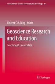 Geoscience Research and Education - Teaching at Universities ebook by