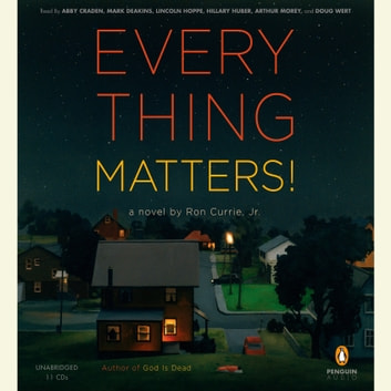 Everything Matters! - A Novel audiobook by Ron Currie